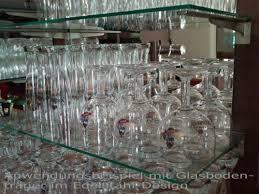 chrom design glasplattenträger länge 300 mm chrom design