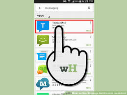 android messaging apps 4 ways to clear message notifications on android wikihow