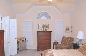 Crown Moulding On Vaulted Ceiling by Crown Molding Master Bedroom Elegance In Wood