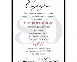 free 80th birthday invitation templates images invitation design