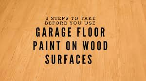 can i use epoxy paint on wood cabinets 3 steps to take before you use garage floor paint on wood