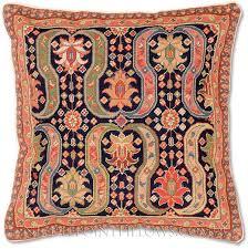 design i needlepoint pillow floral throw pillows