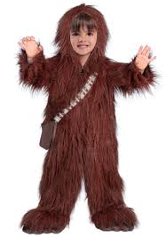 toddler costume deluxe chewbacca costume for toddlers