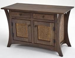 Walnut Vanity Organic Wood Vanity Natural Wood Cabinetry Modern Rustic