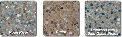 Exposed Aggregate Patio Stones Exposed Aggregate Concrete Triad Associates