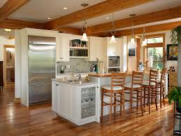 Kitchen Floor Tile Ideas With Oak Cabinets L Shaped White Painted Oak Wood Cabinets Cherry Cabinets Islands