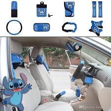 Auto Upholstery Supplies Wholesale Unit Auto Accessories Stitch Blue Black Car Upholstery Steering