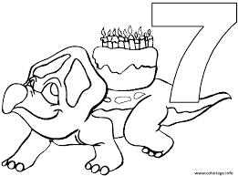 coloriage anniversaire dessin à imprimer gratuit