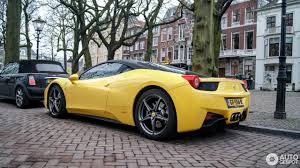 ferrari yellow 458 ferrari 458 italia 31 january 2017 autogespot