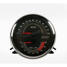 drag specialties speedometer with tach 2210 0103 harley davidson