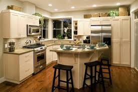 Vintage Small Kitchen In Home Kitchen Vintage Kitchen Decor Idea With Wooden Floor And Small