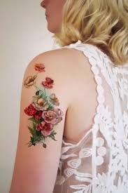 20 amazing flower tattoos for girls tattoo blog