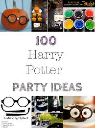 house of paint 100 harry potter halloween party ideas