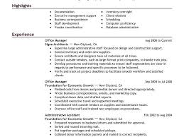 Trained New Employees On Resume Extraordinary Inspiration Sample Office Manager Resume 1 Best