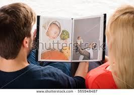 Couple Photo Album Couple Looking Album Stock Images Royalty Free Images U0026 Vectors