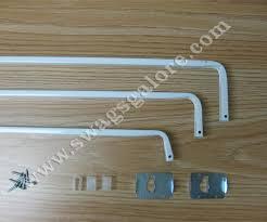 Curtain Rod Mounting Hardware Kirsch Triple Curtain Rod Swags Galore Drapery Hardware