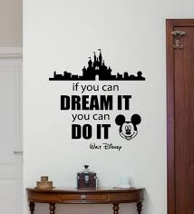 popular castle wall stickers boys buy cheap castle wall stickers new arrival wall decal mickey mouse castle home bedroom wall sticker cartoons movie lettering boy baby