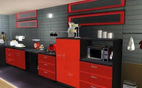 cuisine gris et noir idée déco cuisine et noir idées pour la maison