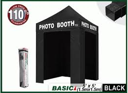 photo booth tent eurmax pointy 5x5 photo booth canopy