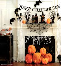 pottery barn inspired flaming pumpkins spookyspaces