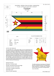 Flag Black Red Yellow Flag Of Zimbabwe Wikiwand
