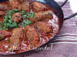 cuisine orientale facile kefta aux aubergines à l le de recette de ratiba
