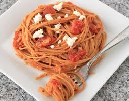 goat cheese and tomato pasta sauce greens u0026 chocolate