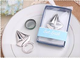 wedding guest gifts wholesale wedding favor sailboat bottle opener themed