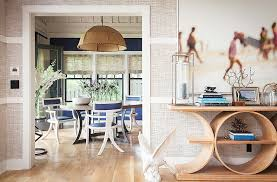 one kings lane table tour the chic modern lake house of designer thom filicia