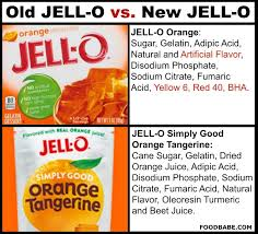 kraft jello drops gmo sugar artificial food dyes u0026 bha