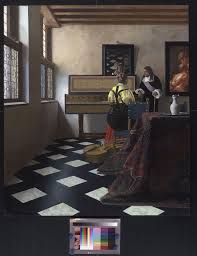 vermeer u0027s secret tool testing whether the artist used mirrors and