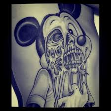 image gallery gangsta mickey mouse tattoos