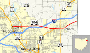 Map Of Youngstown Ohio by Ohio State Route 304 Wikipedia