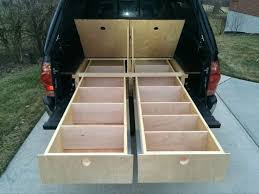 Build Platform Bed Drawers by Best 25 Truck Bed Storage Ideas On Pinterest Truck Bed Box
