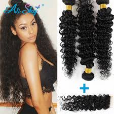 bob hair extensions with closures peruvian curly hair 3 bundles with closure bob curly weave human