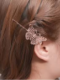gold hair accessories butterfly alloy hair accessory gold hair accessories zaful