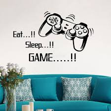 eat sleep play game boy lettering decal wall vinyl decor sticker eat sleep play game boy lettering decal wall vinyl decor sticker room sports
