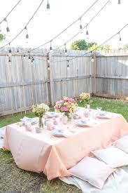 pink u0026 peach easter dinner party pink wings