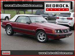 1983 mustang glx convertible value 1983 ford mustang for sale carsforsale com