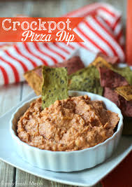 dips cuisine easy crockpot pizza dip family fresh meals