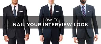 how to nail your interview look