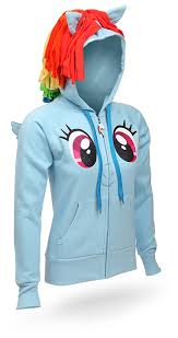t shirts u0026 apparel rainbow dash hoodie carddit