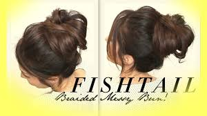 easy messy buns for shoulder length hair how to make a cute messy bun with medium hair