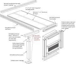 Aluminum Patio Enclosure Materials Three Season Patio Room Systems Hard Roof Screen Room Materials