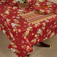 Dining Room Linens by Napoli Fruit And Floral Table Linens