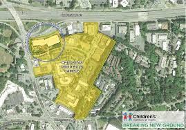City Of Atlanta Map by Brookhaven To See Construction Of 1b Children U0027s Hospital Curbed