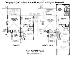 1 1 2 story floor plans small build in stages house plan bs 1275 1595 ad sq ft small