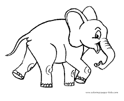 coloring pictures elephant free page 773388 coloring pages for