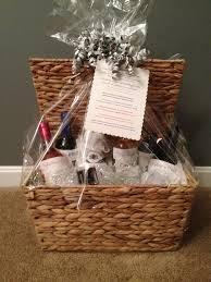 Bridal Shower Wine Basket 7 Best Wine Baskets Images On Pinterest Wine Baskets Gift