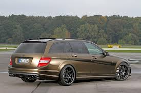 mercedes amg c63 wagon 540 hp c 63 amg wagon is a fit for a gold autoevolution